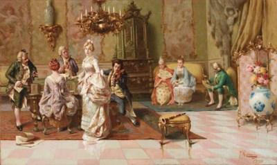 Pompeo Massani (Italian, 1850-