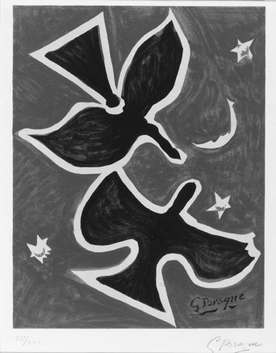 After GEORGES BRAQUE