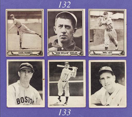 COLLECTION OF 1940 PLAY BALL BASEBALL CARDS