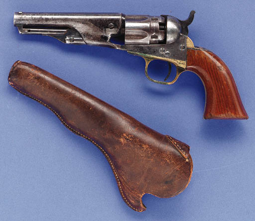 A .36 COLT MODEL 1862 POLICE P
