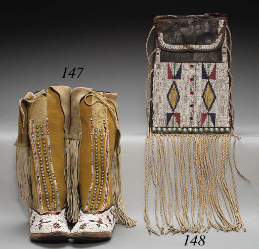 A PAIR OF SOUTHERN PLAINS GIRL