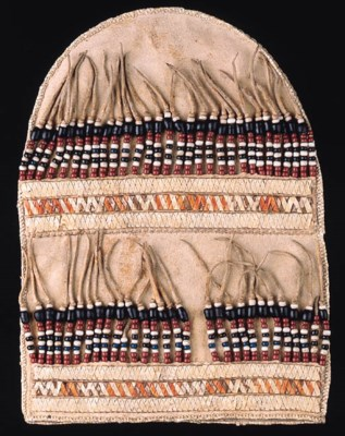 AN ATHABASKAN BEADED AND QUILL