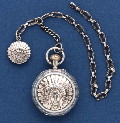 A POCKETWATCH BY THE EDWARD H.