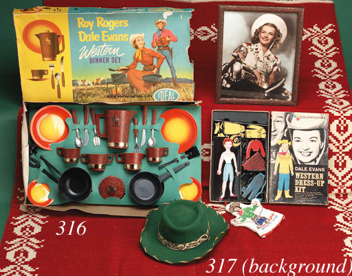 A SELECTION OF VINTAGE TOYS