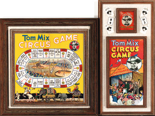 A TOM MIX CIRCUS GAME