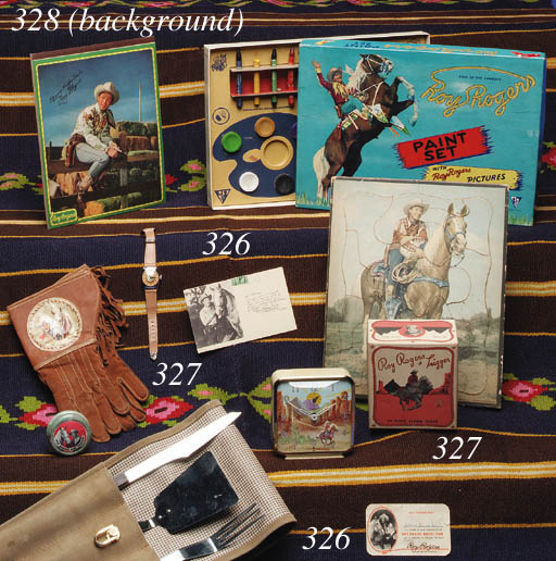 A COLLECTION OF VINTAGE ROY ROGERS TOYS