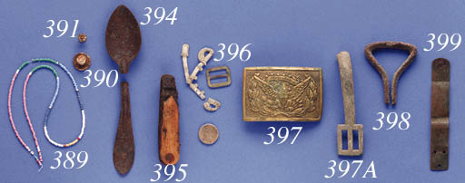 A SELECTION OF METAL OBJECTS