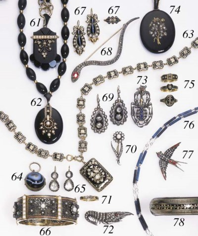 A GROUP OF VICTORIAN JEWELRY