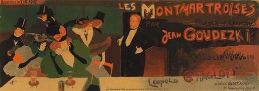 'LES MONTMARTROISES', A LITHOG