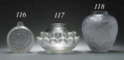 'DORDOGNE', A CLEAR GLASS VASE