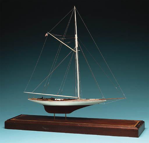 The America's Cup Yacht VIGILA