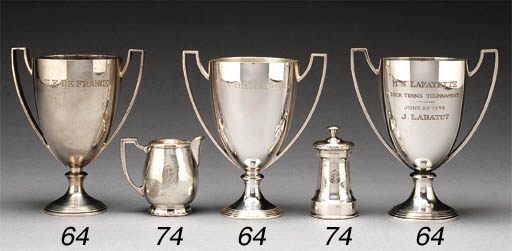 Three Trophies From The French