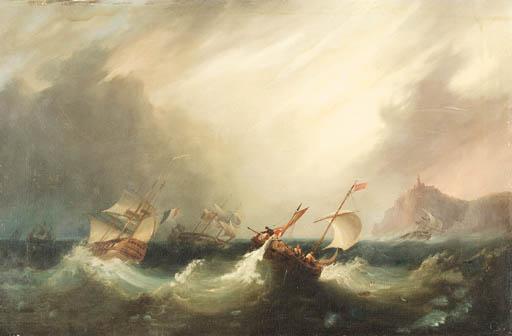 Frederick Calvert (British, fl