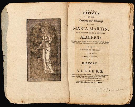 MARTIN, Maria. History of the