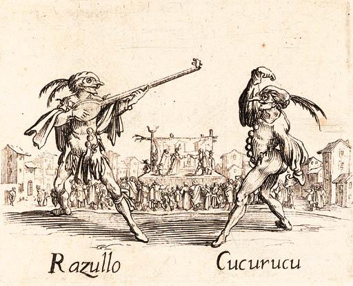 CALLOT, Jacques. Balli di Sfes
