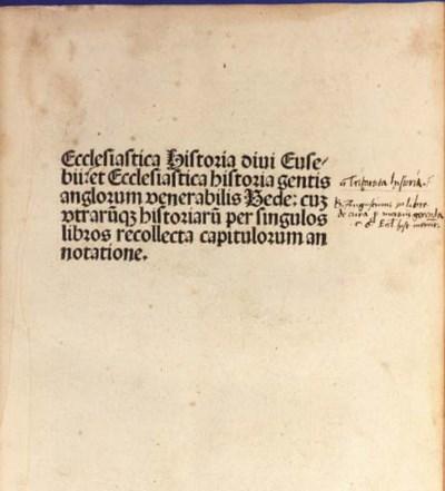EUSEBIUS CAESARIENSIS (ca. 260