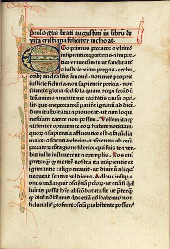 AUGUSTINUS (pseudo-). De vita