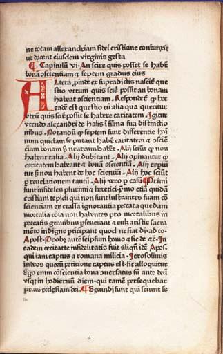 NIDER, Johannes (1380-1438). C