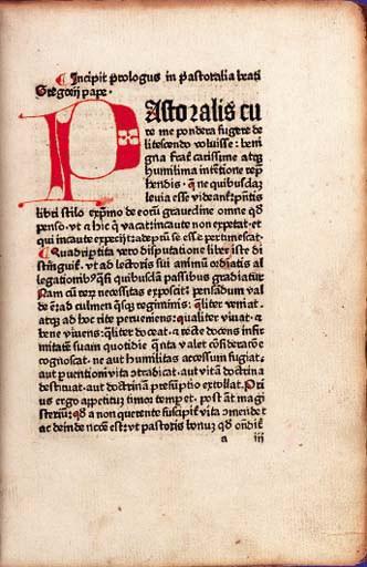 GREGORIUS I (Saint, ca. 540-60