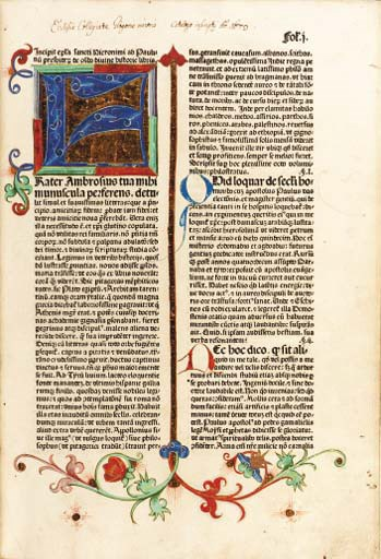 BIBLE, Latin. With additions b
