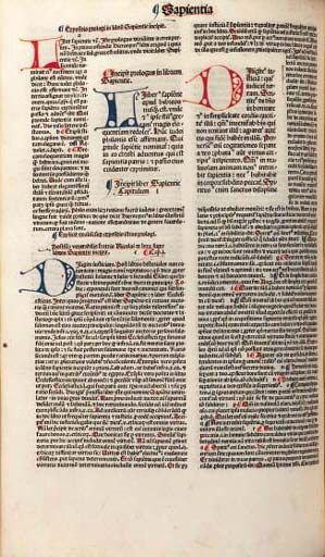 BIBLE, Latin. Volume II (of II