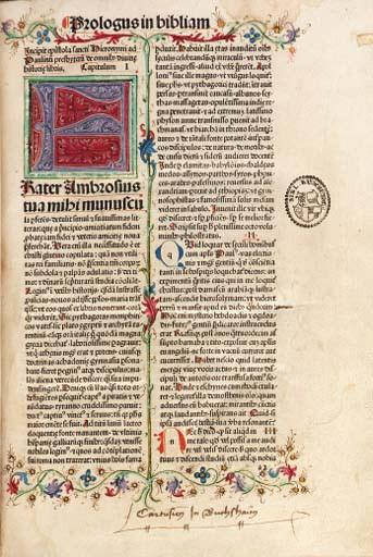 BIBLE, Latin. [Basel: Johann A