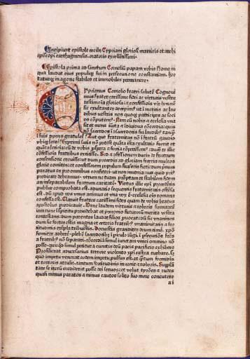 CYPRIANUS, Thascius Caecilius,