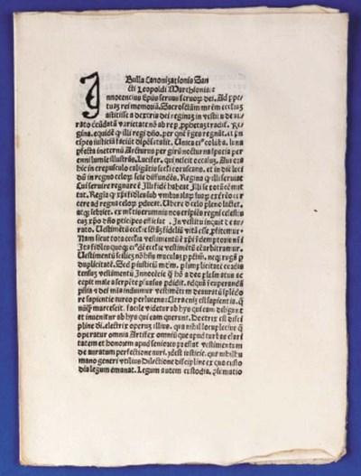 INNOCENTIUS VIII (Giovanni Bat