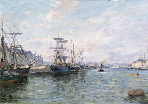 Edmond-Marie Petitjean (French, 1844-1925)