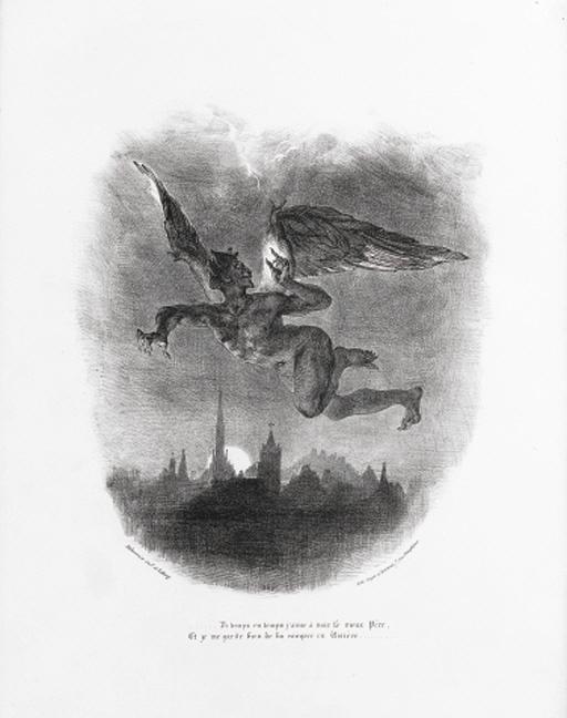 EUGENE DELACROIX (1798-1863)