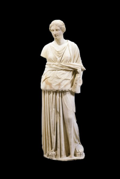 A LATE HELLENISTIC STATUE OF T
