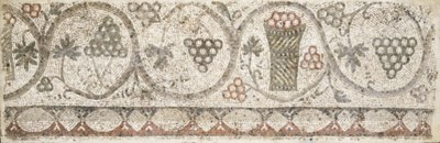 A ROMAN MARBLE MOSAIC PANEL