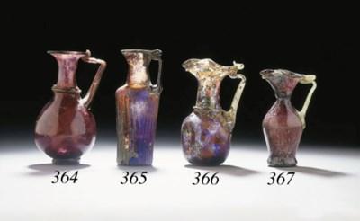 A ROMAN GLASS OINOCHOE