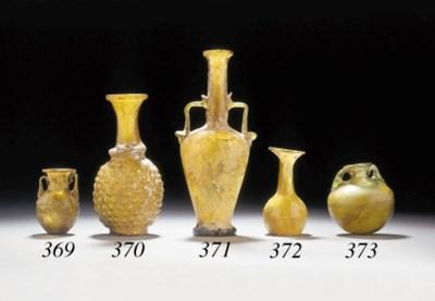 A ROMAN GLASS VASE