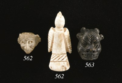 TWO MESOPOTAMIAN AMULETS