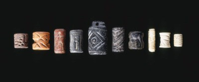 TEN NEAR EASTERN CYLINDER SEAL