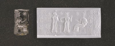 AN OLD BABYLONIAN STEATITE CYL