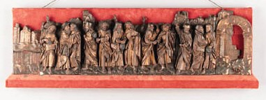 A SOUTH GERMAN POLYCHROME AND