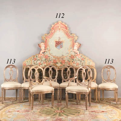 A SPANISH BAROQUE POLYCHROME-D