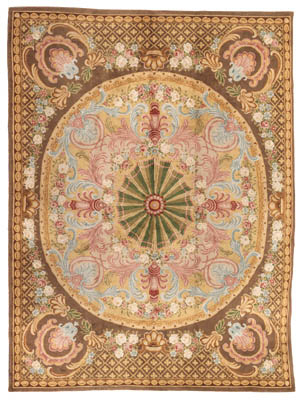 A FRENCH SAVONNERIE CARPET