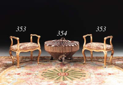 A PAIR OF ITALIAN ROCOCO-STYLE