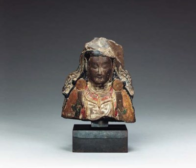 A Rare Polychrome-Decorated Li