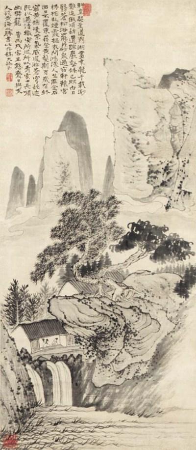 Shitao (Style of, 1642-1707)