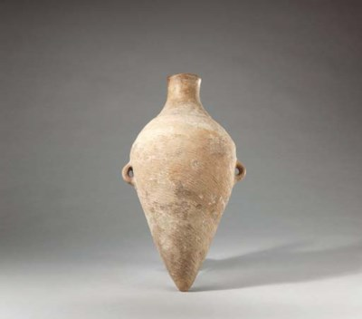 A Neolithic Red Pottery Amphor
