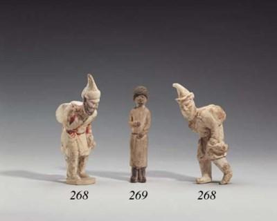 A Rare Slender Pottery Figure