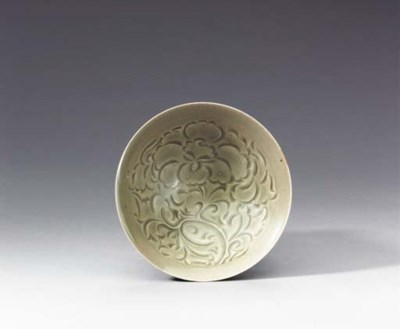 A Fine Well-Carved Yaozhou Con