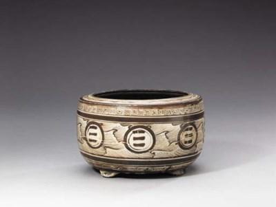 A Rare Jizhou Brown-Painted Ci