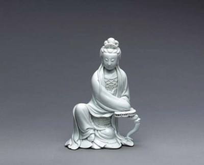 A Small Blanc-de-Chine Figure