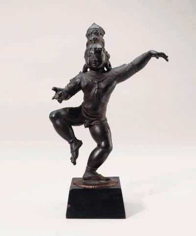 A Bronze Figure of a Dancing K