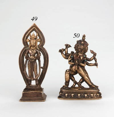 A Bronze Figure of Vajrakila a